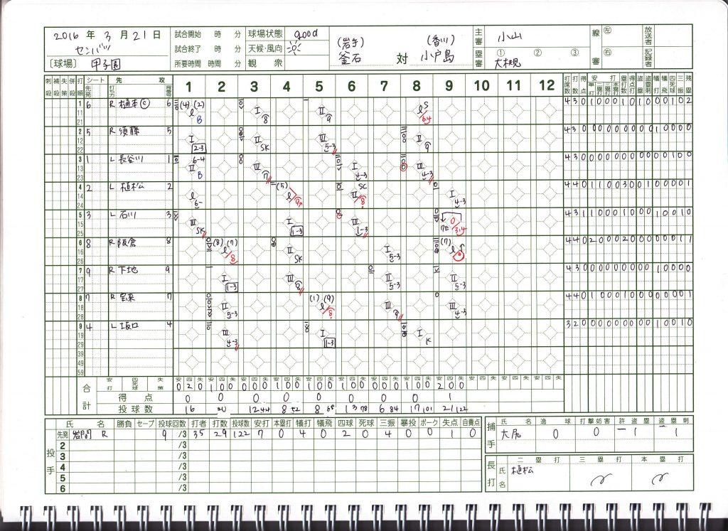 20160321_センバツ_釜石vs小豆島1
